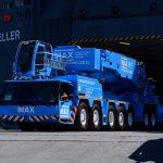 Max Cranes Liebherr LTM 11200-9.1 Arriving