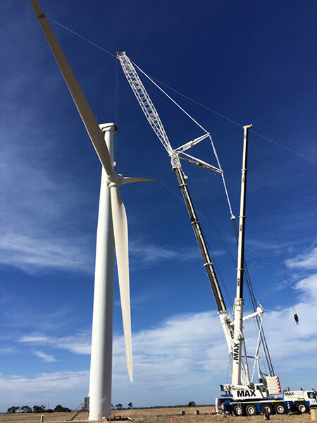 Wind & Renewables - Max Cranes