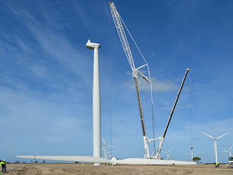 AGL Wattle Point - MAX Cranes