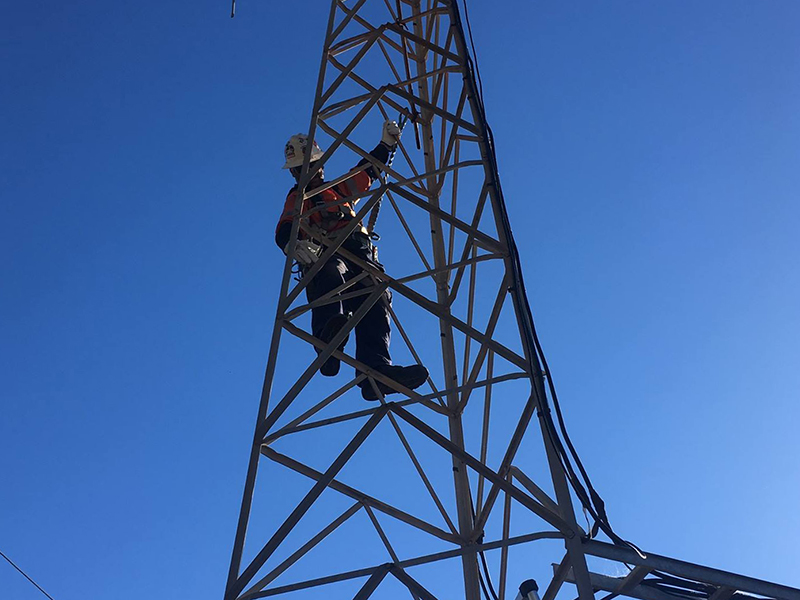 Communications Tower St Johns Ambulance – MAX Cranes
