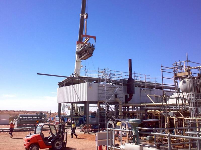 Enerflex Oil & Gas - MAX Cranes