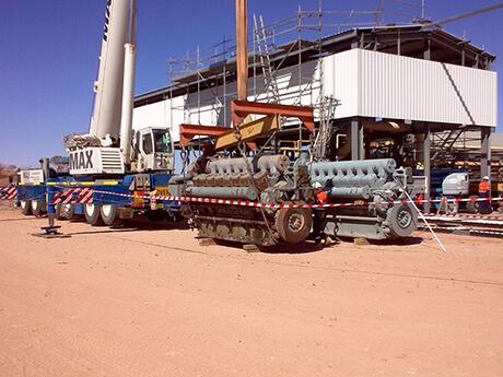 Enerflex Oil Gas - MAX Cranes