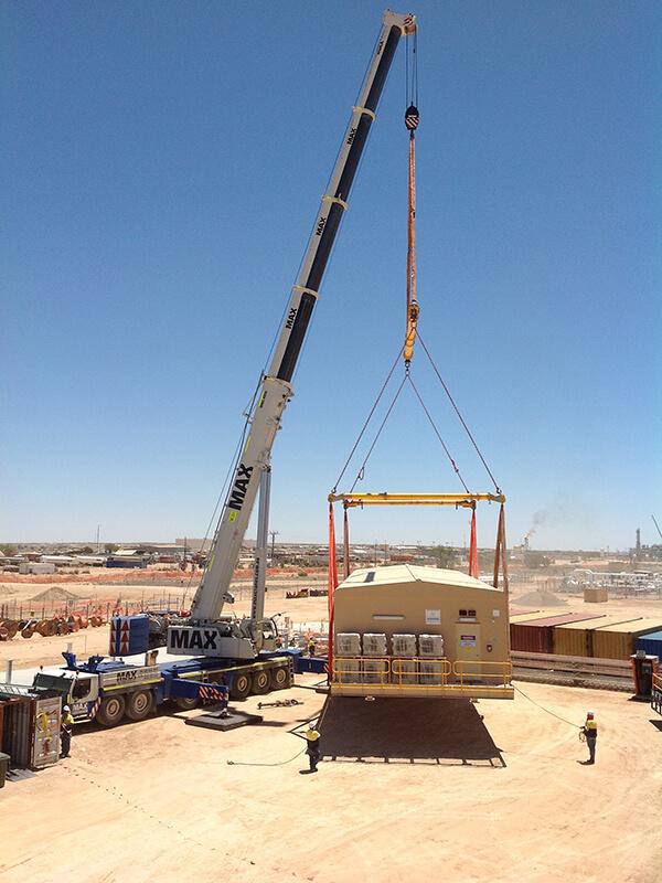 Enerflex- Oil & Gas - MAX Cranes