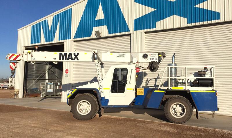 Franna 15 tonne crane - MAX Cranes