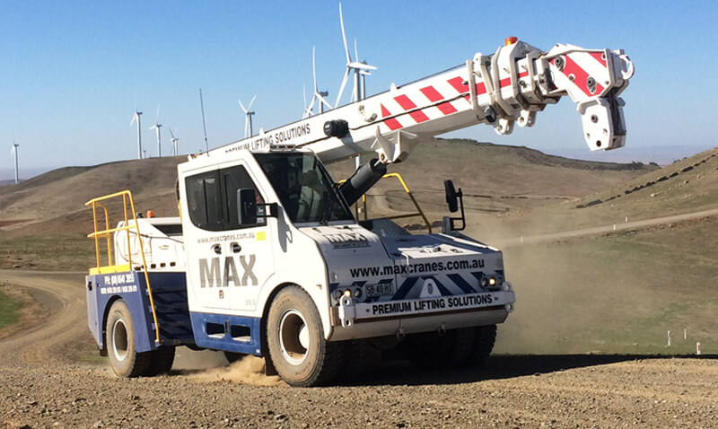 Crane Services Fleet, Transport & Access Equipment Hire - MAX Cranes