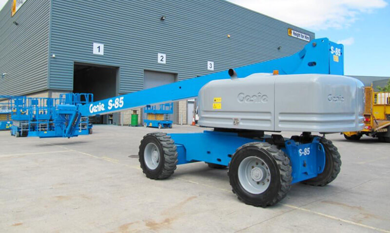 Genie S85 85ft Diesel Telescopic Boom - MAX Cranes