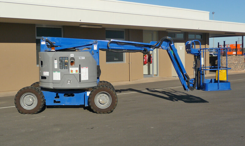 Genie Z34-22IC 34ft Articulating Boom Lift - MAX Cranes