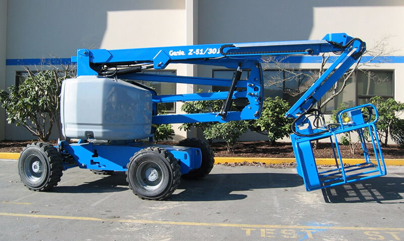 Genie Z51-30RT 51ft Articulating Boom Lift - MAX Cranes
