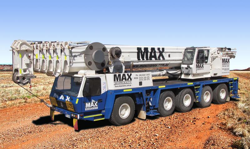 Grove GMK 5180 180 tonne crane - MAX Cranes