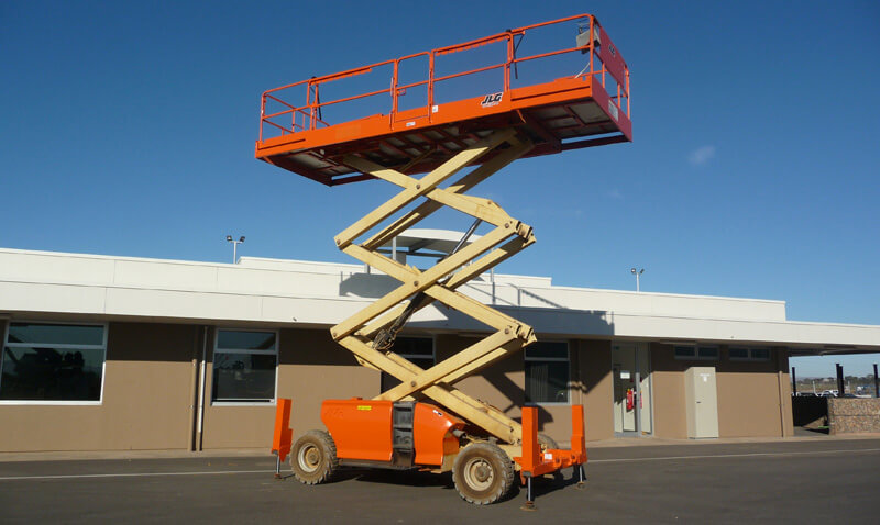 JLG 3394RT 33ft All Terrain Diesel Scissor Lift - MAX Cranes