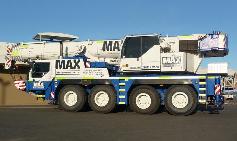 Liebherr LTM 1070-4.2 70 tonne crane - MAX Cranes