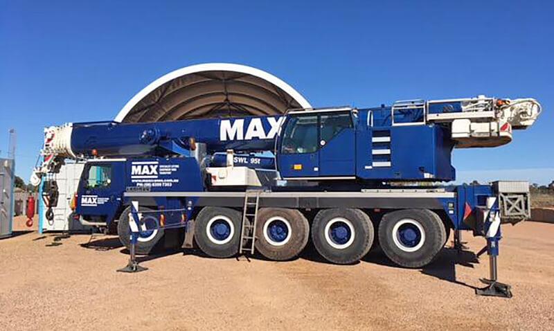 Liebherr LTM 1095-5.1 - MAX Cranes