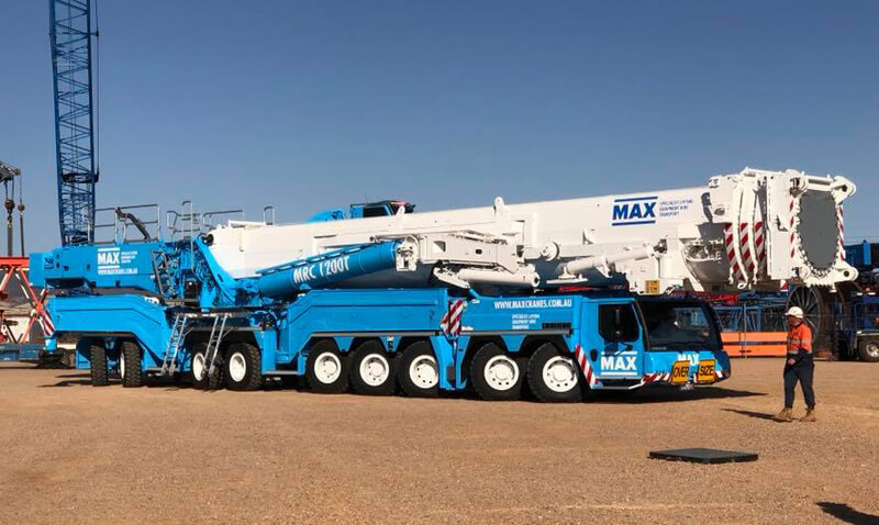 Liebherr LTM 11200-9.1 1200 Tonne Crane - MAX Cranes