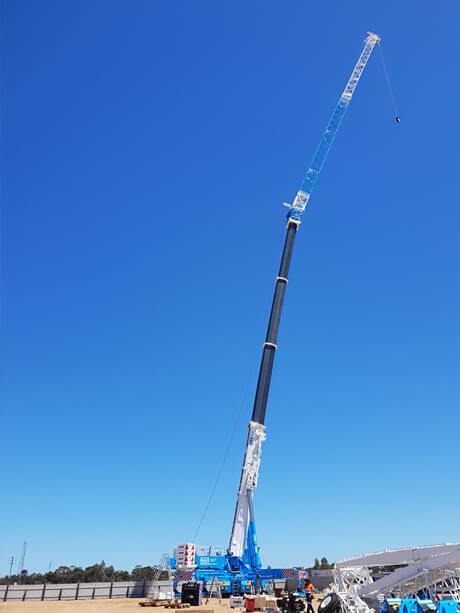 Liebherr LTM 11200-9.1 - MAX Cranes