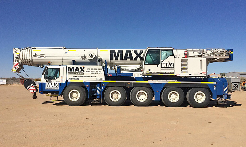 Liebherr LTM 1130-5.1 130 tonne crane - MAX Cranes