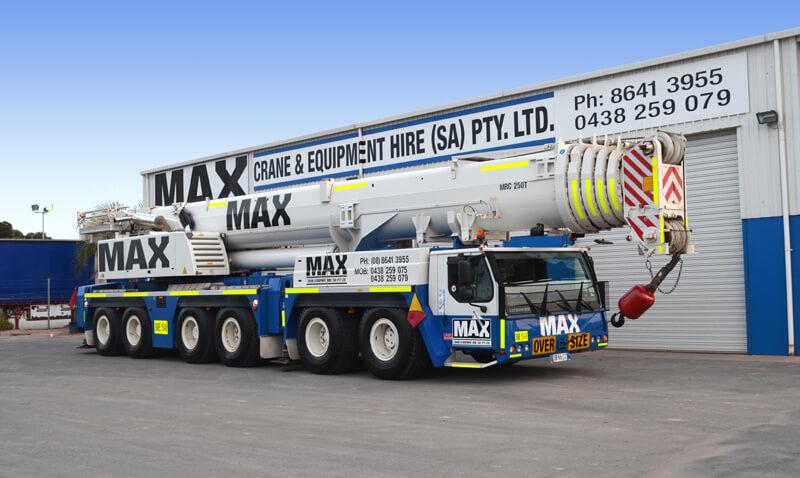 Liebherr LTM 1250-1 250 tonne crane - MAX Cranes
