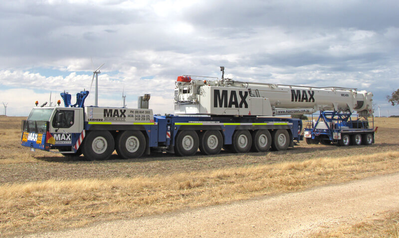 Liebherr LTM 1400-7.1 400 tonne crane - MAX Cranes