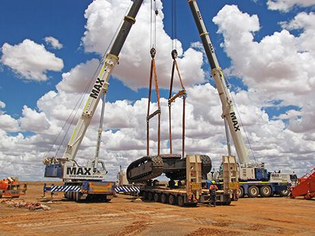 Mining Civil - MAX Cranes