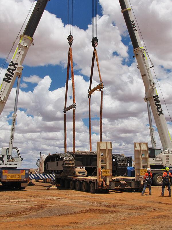Mining & Civil Australia - MAX Cranes