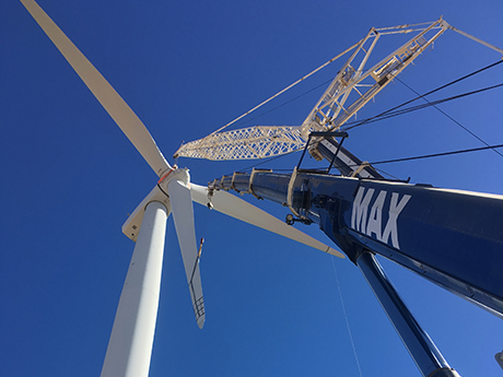 North Brown Hill Wind Farm- MAX Cranes