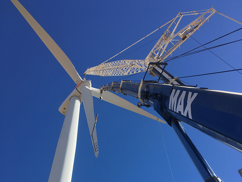 North Brown Hill Wind Farm - MAX Cranes