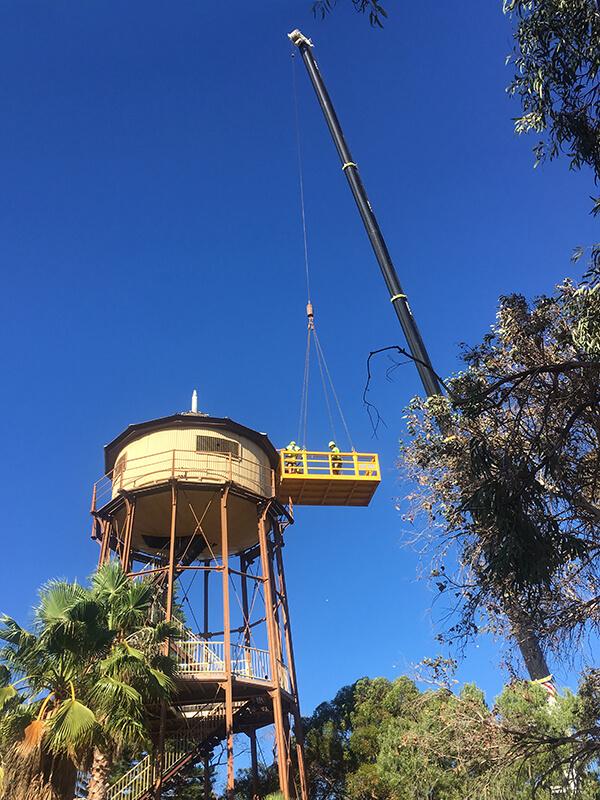 Port Augusta Water Tower - MAX Cranes