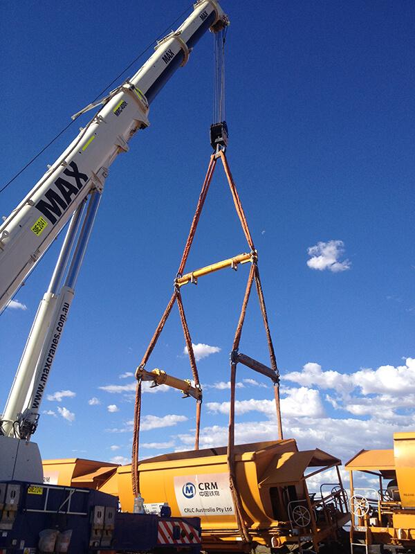 EDI Rail - MAX Cranes