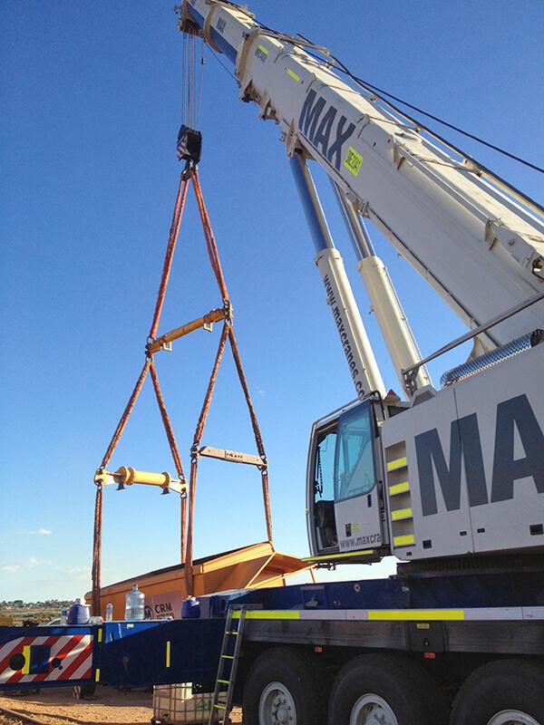 EDI Rail – MAX Cranes