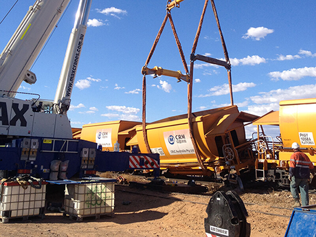 Rail - EDI Rail - MAX Cranes
