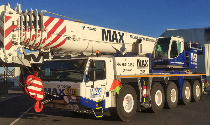 Tadano Faun ATF130G-5 130 tonne crane - MAX Cranes