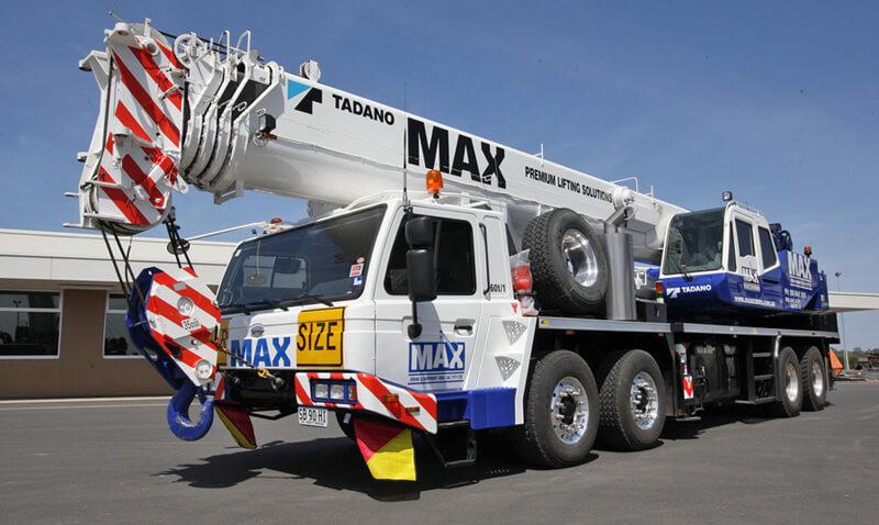 Tadano GT-600EX 60 tonne crane - MAX Cranes