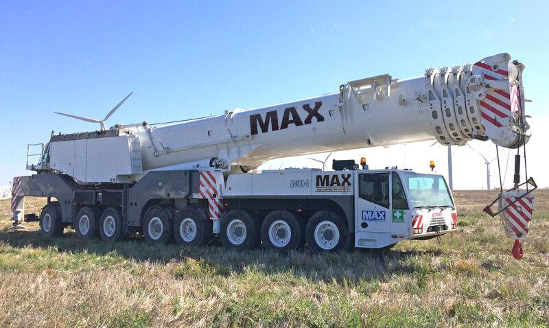Terex AC500-2 500 tonne crane - MAX Cranes