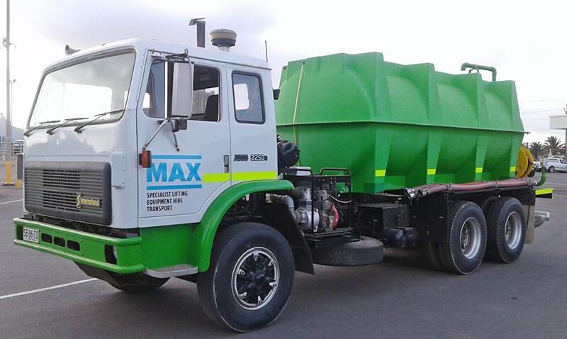 Water Truck - MAX Cranes