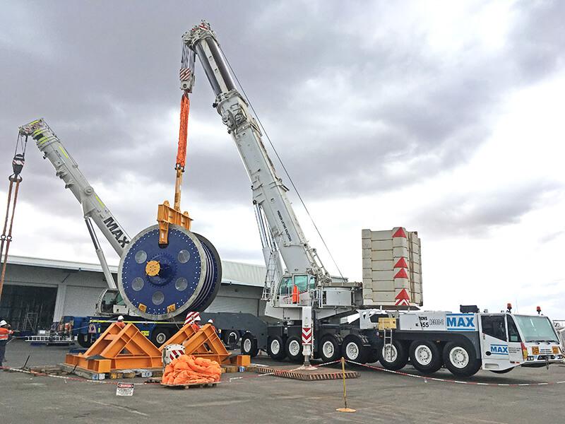 Winder Controls – BHP – MAX Cranes