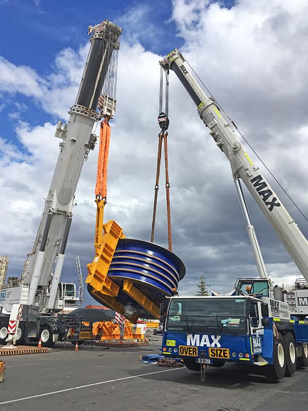 Winder Controls - BHP - MAX Cranes