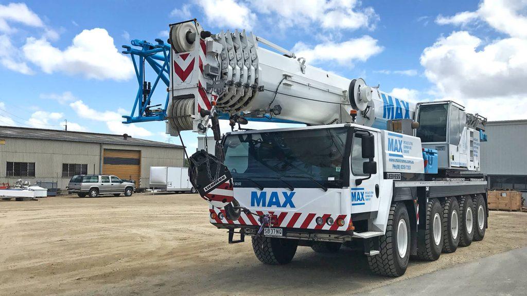 Liebherr LTM 1095-5 1 95 Tonne Crane Adelaide - MAX Cranes