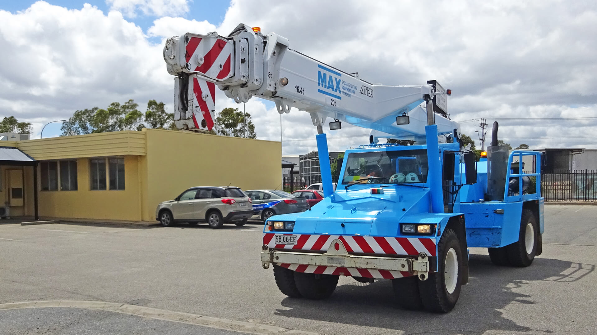 Terex Franna AT20 Pick & Carry Crane