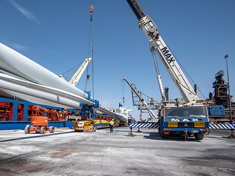 CBCH Turbine Blade Lift