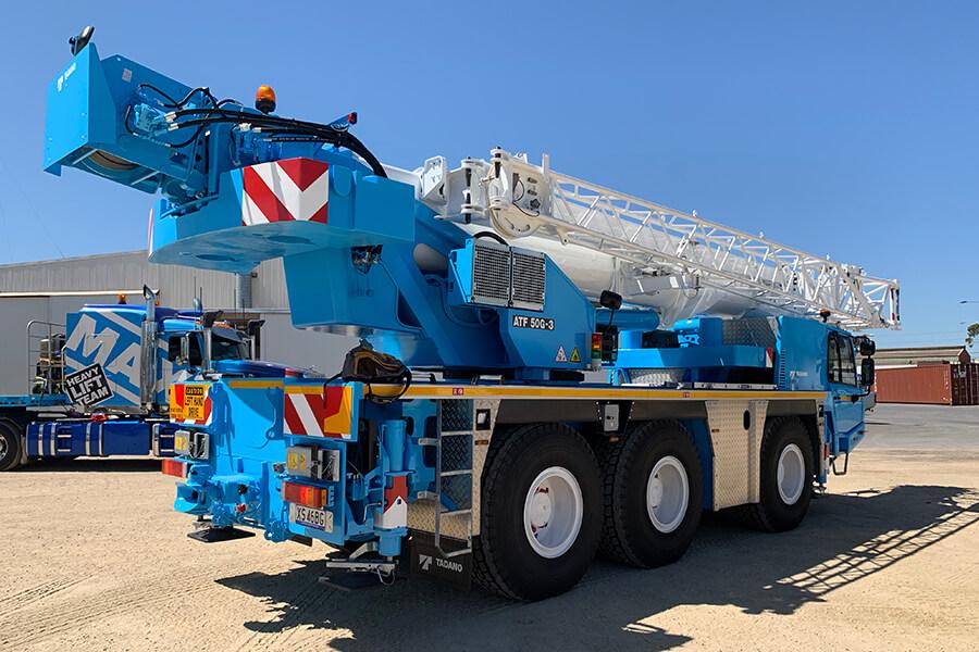 Tadano ATF 50G-3 - MAX Cranes - Crane Hire Adelaide