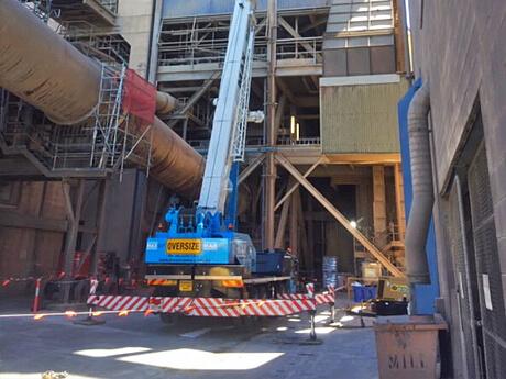 Adelaide Brighton Cement Shutdown