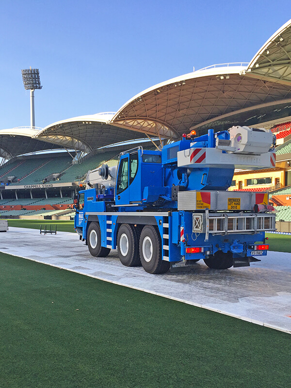 Staging Adelaide Oval for Phil Collins