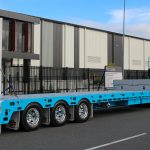 Tuff Tri-Axle Reverse Extendable Drop Deck Trailer