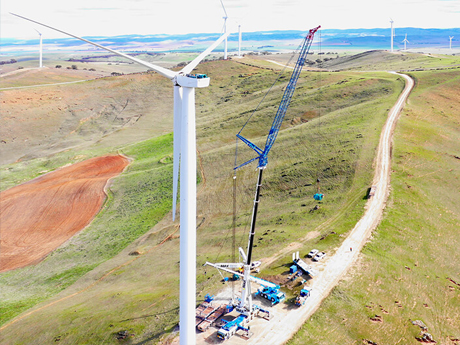 Gearbox Exchange Jamestown Wind Farm