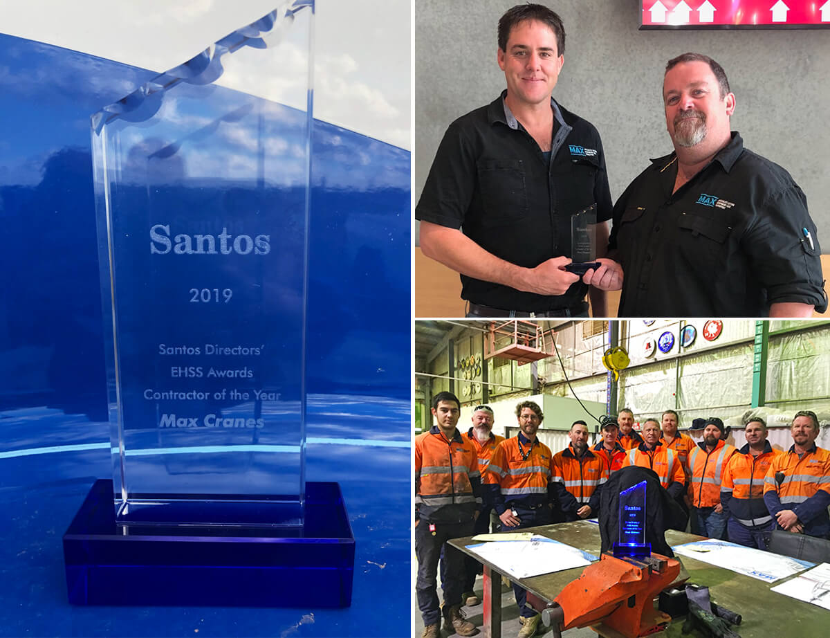 Santos 'Contractor of the Year' Award