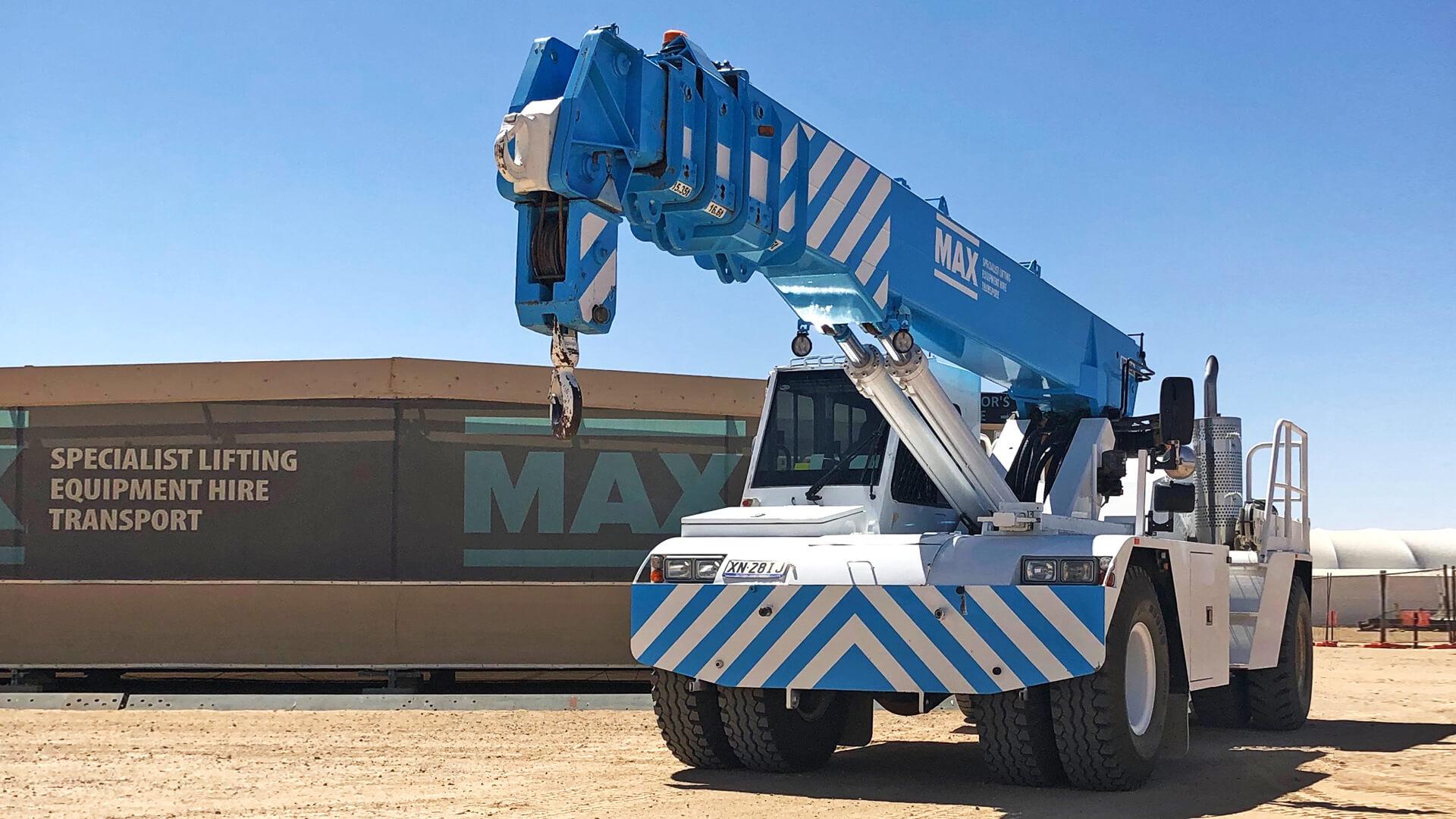 Terex MAC25 Adelaide