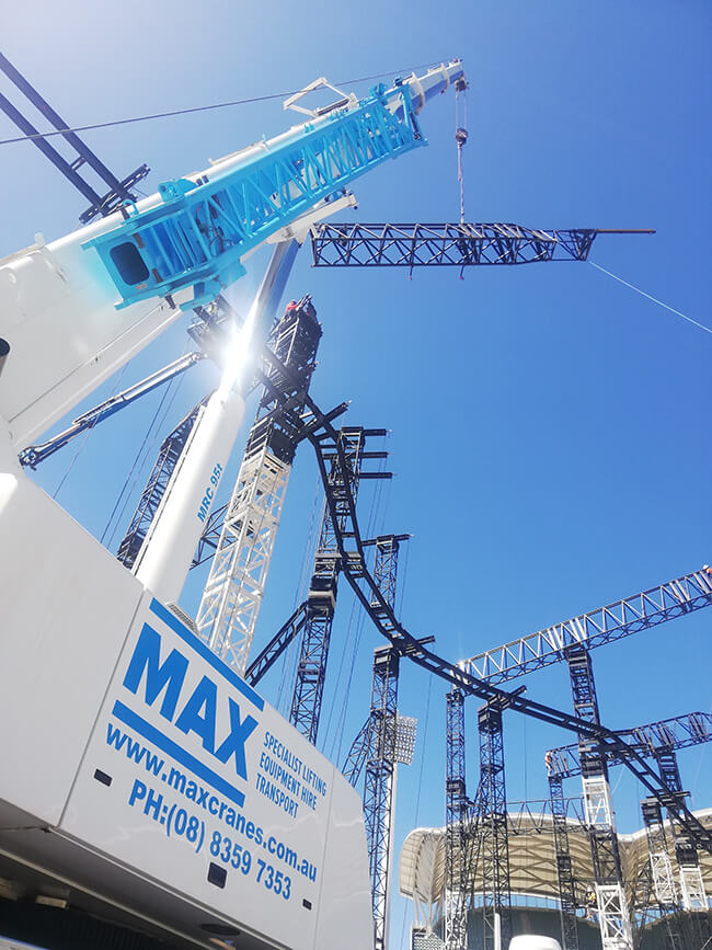 MAX Cranes Sub-Contractors