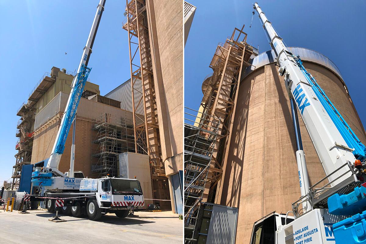 Adelaide Brighton Cement Plant Shudown