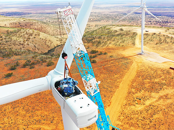 Wind Farm Maintenance Australia