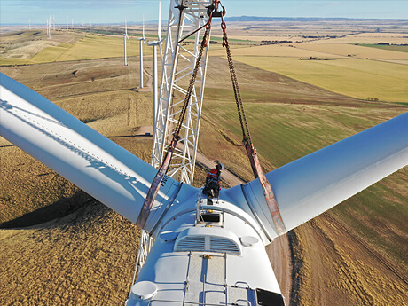 Wind Turbine Rotor Replacement