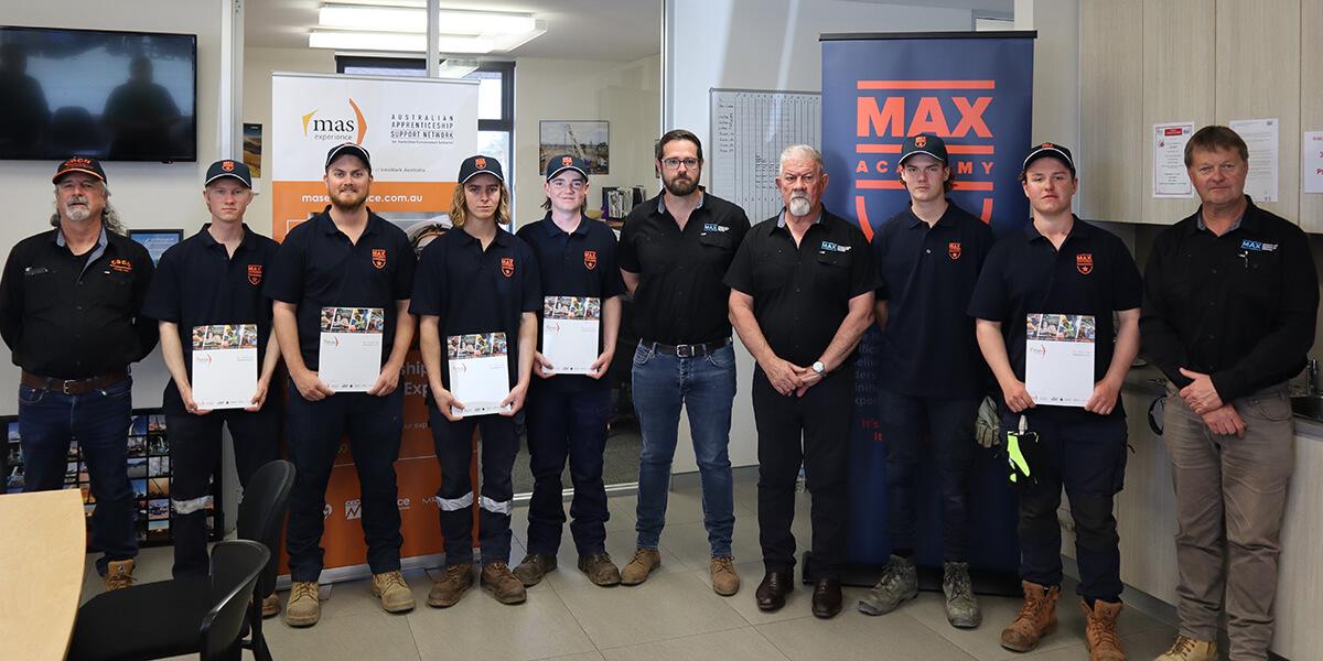 MAX Academy Trainees